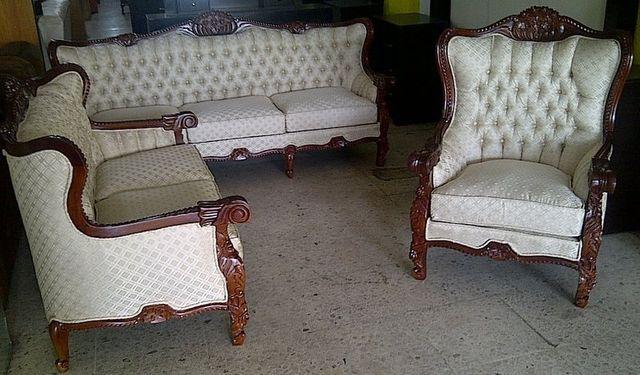 Sala torsal arte muebles for Muebles luis 15